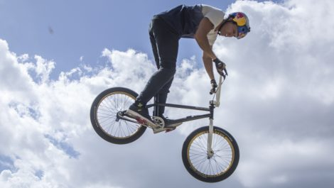 El venezolano Daniel Dhers vuela en su estreno olímpico