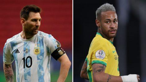 Dos campeones y dos titanes en la final de la Copa América