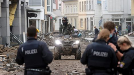 Las fuertes lluvias en Europa dejan decenas de muertos y graves daños