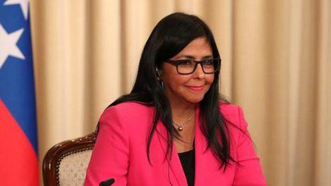 Delcy Rodríguez en Fedecámaras: se anunciarán medidas económicas