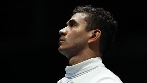 El venezolano Rubén Limardo cae en primera ronda de espada en Tokio 2020