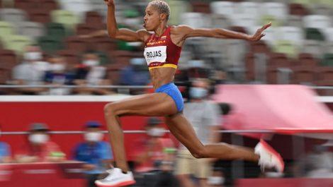 ¡Oro olímpico!: Yulimar voló y arrasó