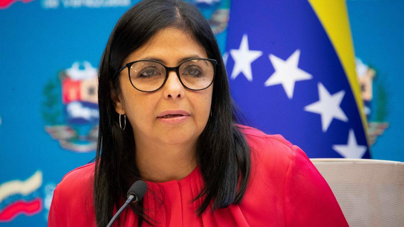 Delcy Rodríguez anuncia «plan expansivo» de vacunación para el regreso a clases