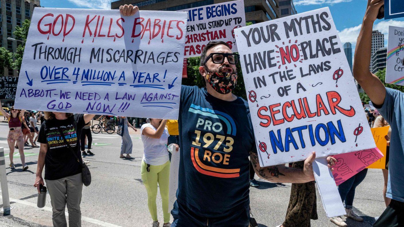 Texas convierte el aborto en negocio para cazarrecompensas