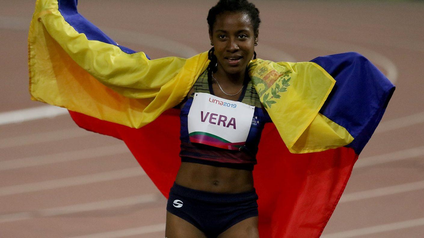 ¡Súper atleta!: Lisbeli Vera obtuvo su segunda de oro en Tokio