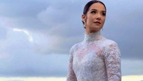 Entérate cuánto cuesta el vestido que usó Daniela Alvarado en su boda