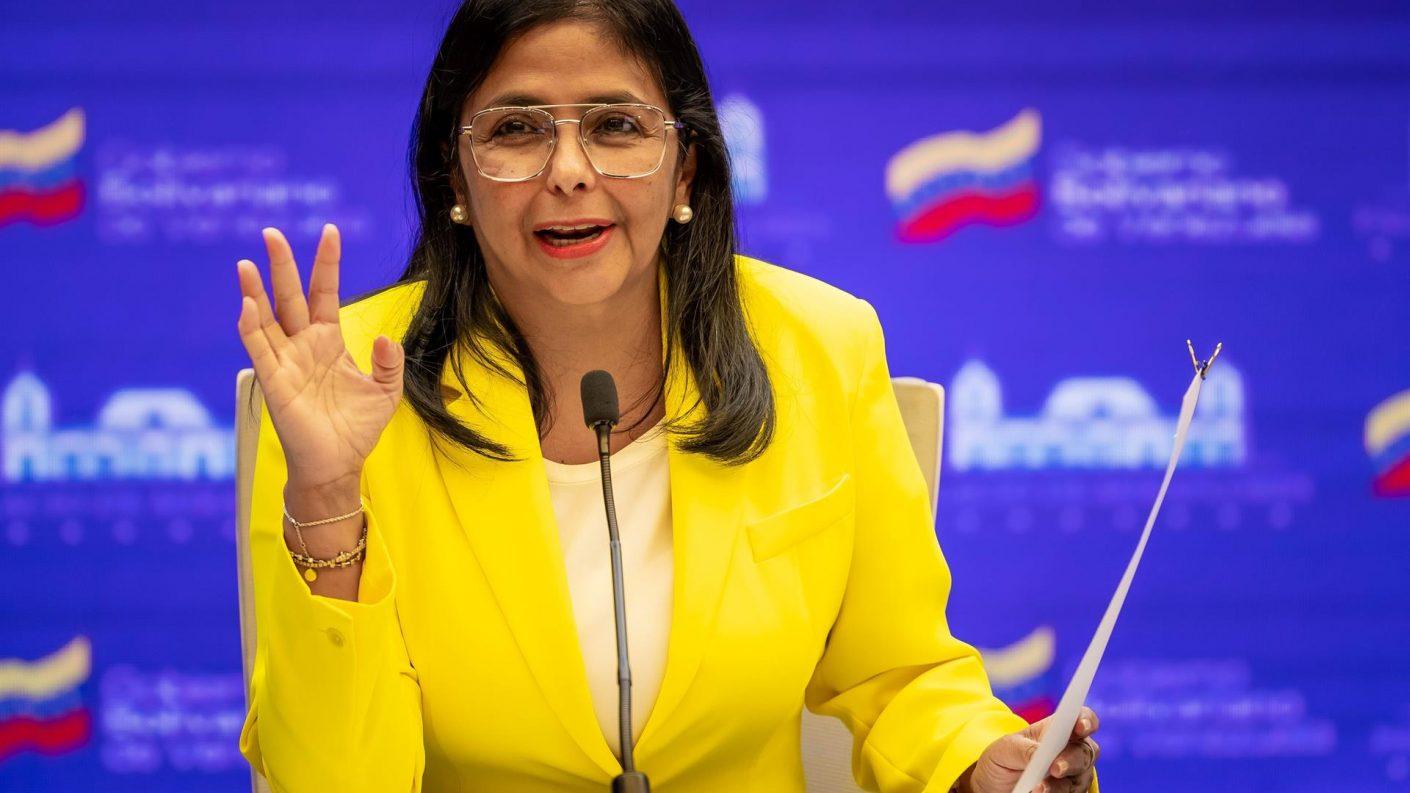Según Delcy Rodríguez, el deterioro en servicios públicos se debe a las sanciones