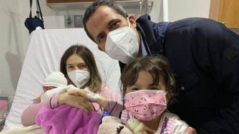 Así fue el nacimiento de la nueva hija de Juan Guaidó y Fabiana Rosales (+foto)