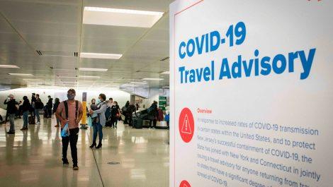 EE.UU. permitirá la entrada de viajeros internacionales vacunados desde noviembre