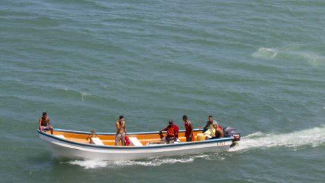 Identificados los 5 pescadores desaparecidos en Falcón