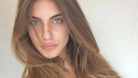 Ella es Camilla Fabri, la esposa de Alex Saab que participó en una concentración en Caracas