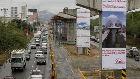 Reanudaron trabajos para culminar el Metro hacia Guarenas- Guatire