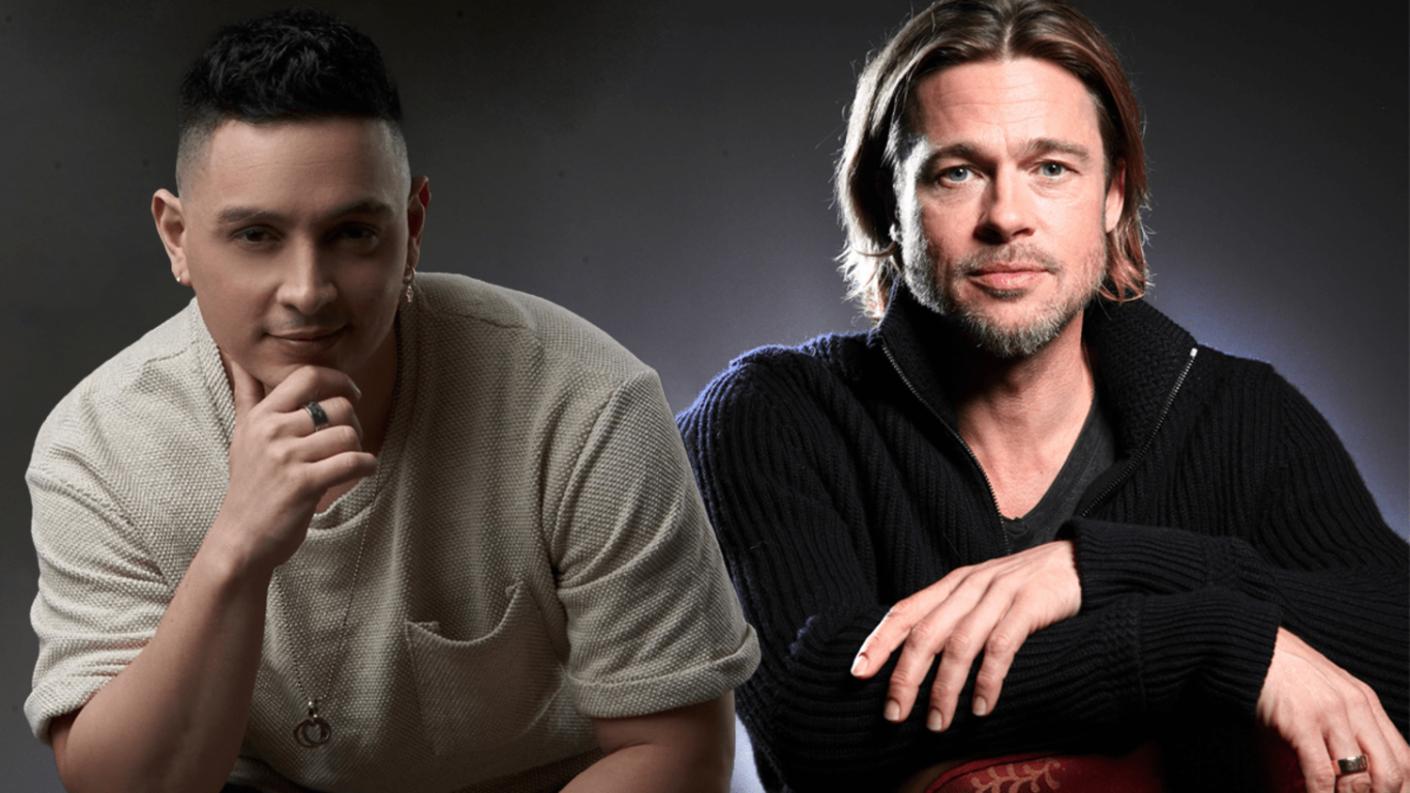 Protagonista de Somos tu y yo, Victor Drija, aseguró que lo confunden con Brad Pitt y desató los memes