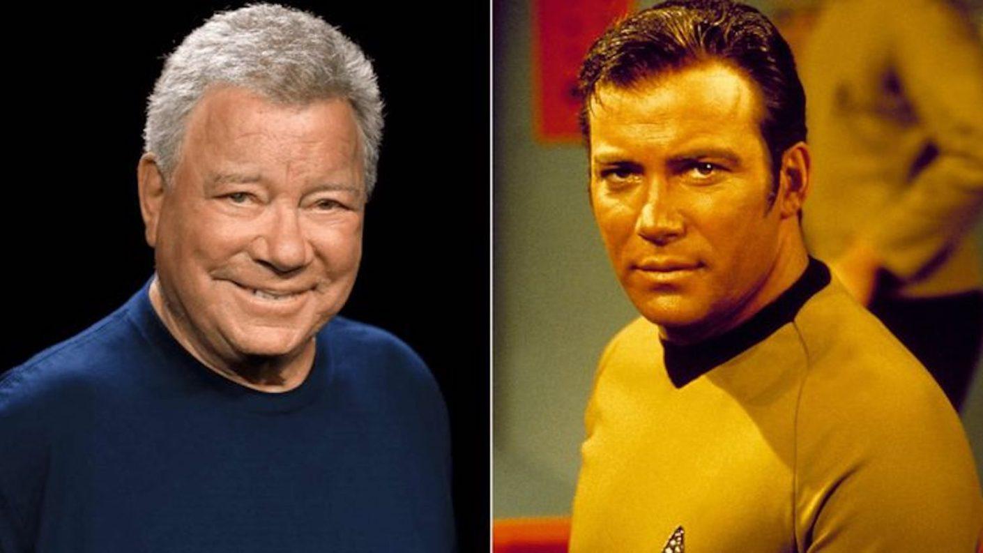 William Shatner, el Capitán Kirk en Star Trek, irá al espacio